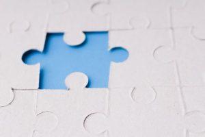 パズルのピース、凸凹、でこぼこ