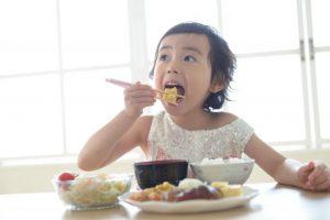 食事、食べる、子供、ご飯、和食