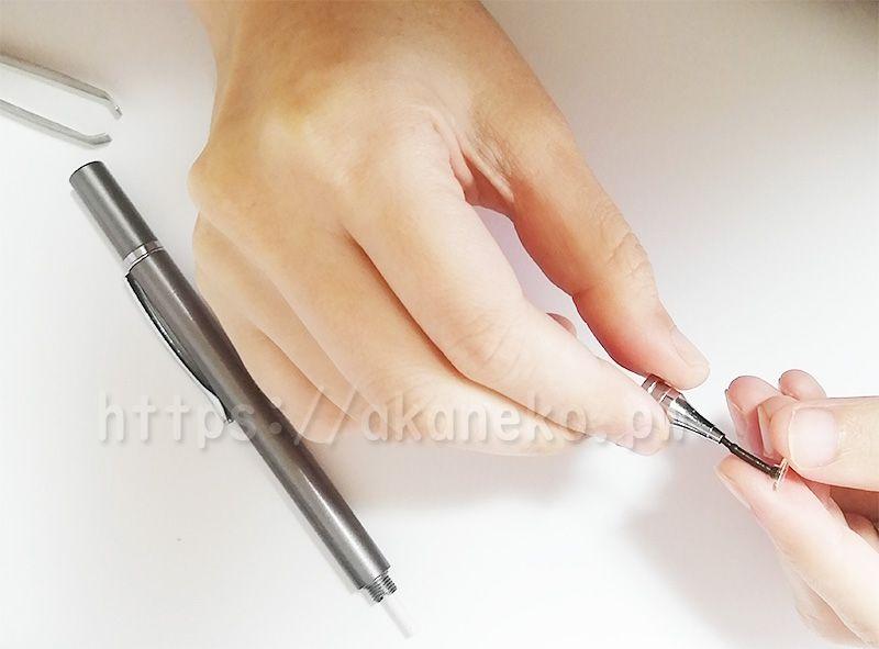 ダイソーのペン先が細いタッチペン