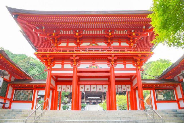 近江神宮、お寺、神社仏閣
