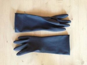 手袋、ゴム手袋