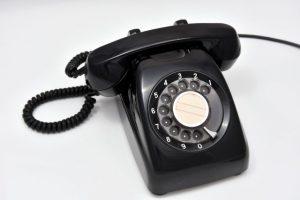 黒電話、固定電話