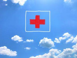 病院、空、医療、診断、治療