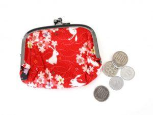 財布、さいふ、サイフ、がま口、お金、小銭