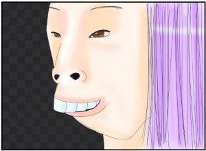 ブスな女性の顔面