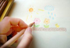 お絵描き、落書き