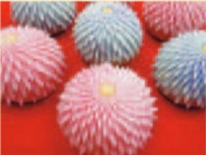 はさみ菊の和菓子
