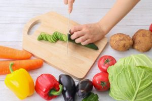 野菜、料理、自炊、ご飯、食事