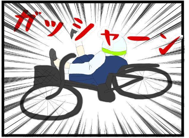 夜道の自転車3