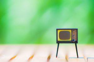 テレビ、動画、youtube