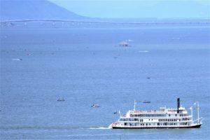 琵琶湖、浜大津、びわこ、滋賀
