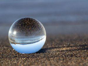 ボール、球体、レンズ、ガラス玉